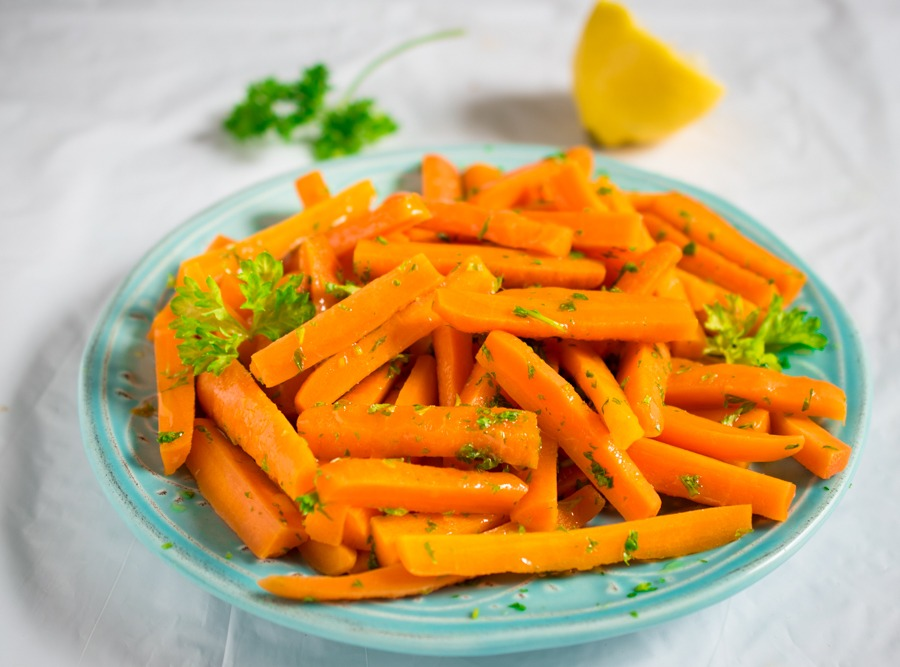 Boiled-sliced-carrots - to make your toddler eat